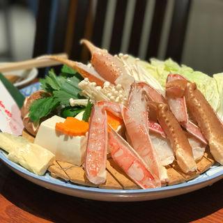 カニすき(かに道楽 上野店 (かにどうらく))
