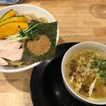パンプキンつけ麺(福島壱麺 (イチメン))