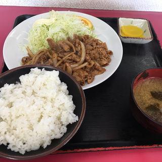 焼肉定食(びっくりラーメン )