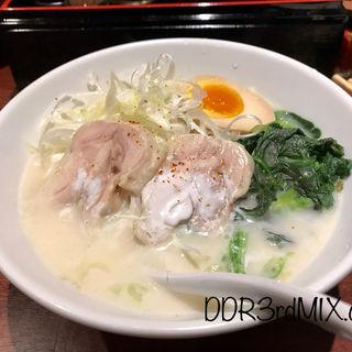 鶏塩白湯ラーメン(横浜家系ラーメン 匠)