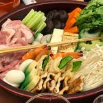 うどん寄せ鍋 花コース(道頓堀 今井 本店 (どうとんぼり いまい))