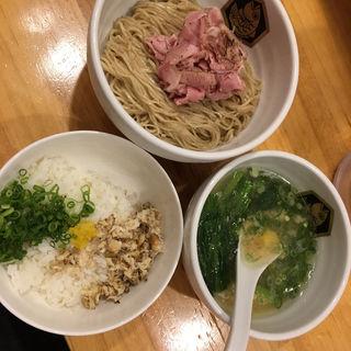 真鯛つけ麺雑炊セット(真鯛らーめん 麺魚 )