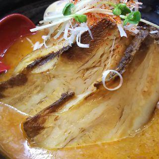 特製豚バラ担々麺(白ごま 味玉付き)(白湯麺屋 武蔵小杉店 )