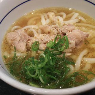 鶏塩うどん(なか卯 府大前店 )