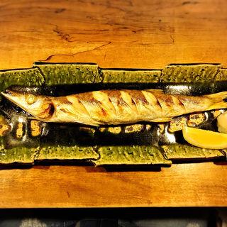 小柴カマス塩焼き(一饗 (いっきょう))