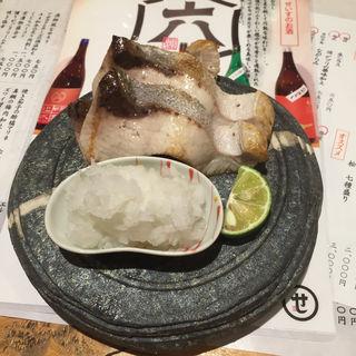 ぶりトロ塩焼き(酒と銀シャリ せいす)