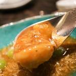 蟹粉扒天使蝦