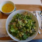 焼き野菜と豆腐のサラダ (327kcal)