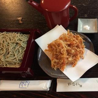 天せいろ蕎麦(朴念仁 (ぼくねんじん))