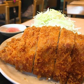 ロースかつ定食(とんかつ はまや 関内駅前店)