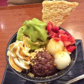 宇治抹茶パフェ(丸の内 CAFE 会 (カフェ))