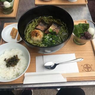 にしん茶蕎麦セット(中村藤吉本店)