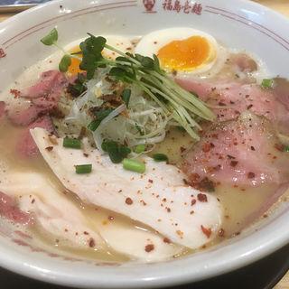 豚・牛・鶏トリプルラーメン(福島壱麺 (イチメン))