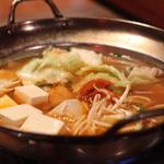 辛いもつ鍋(居食遊間 木四季 (こしき))