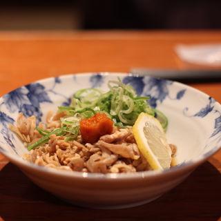 酢モツ(居食遊間 木四季 (こしき))