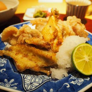唐揚げ定食(ヨシモリ)
