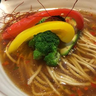 Spicy Vegan Ramen Combo(新宿御苑らーめん桜花 (シンジュクギョエンラーメンオウカ))
