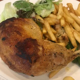 鳥のコンフィ(レストラン・サカキ (RESTAURANT SAKAKI))