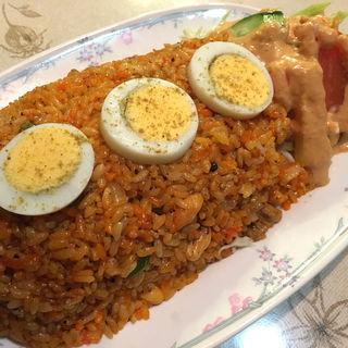 インド風焼飯(チキン)(ドルーガ  (DURGA))