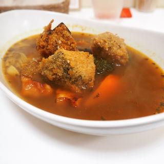 マンスリーカレー(スパイススマイル (soup curry Spice×Smile))