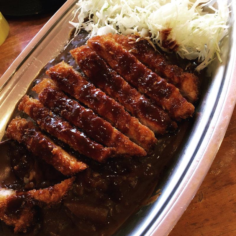 豚カツカレー(中)