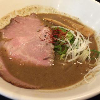 魚介鶏白湯醤油ラーメン(らーめん ぎん流 本店)