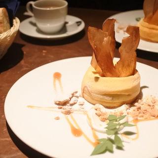 種子島産安納芋のスフレチーズケーキ(チェルシー なんばパークス店 )