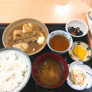 肉どうふ定食(和子 )