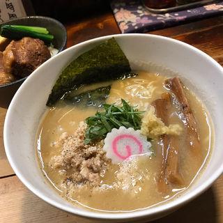 生姜鶏白湯らぁめん(限定)(らぁめん つけめん 粋や (いなせや))