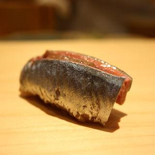 秋刀魚の握り(鮨 なんば )