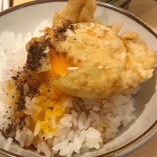 玉子天(揚げたて天ぷら定食 まきの 難波千日前店)