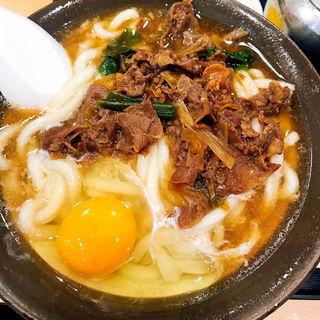 肉卵(牧のうどん 博多バスターミナル店)