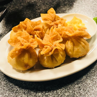 海老揚げ餃子(並盛)5個(天鴻餃子房 飯田橋店 (テンコウギョウザボウ))