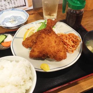 あじフライ定食(山角 )