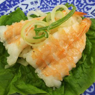 シャリ野菜 えび(無添くら寿司 川崎下平間店)