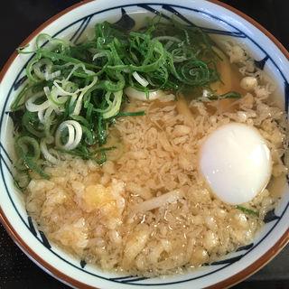 かけうどん(温泉玉子)(丸亀製麺 福岡原田店 )