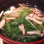 季節野菜の煮物椀
