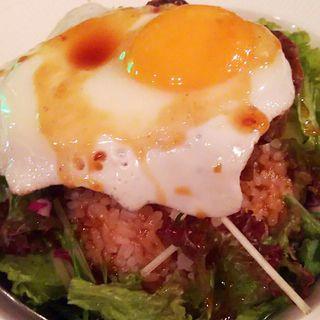 ロコモコ丼(GORI×2 MEAT ROOM 梅田店)