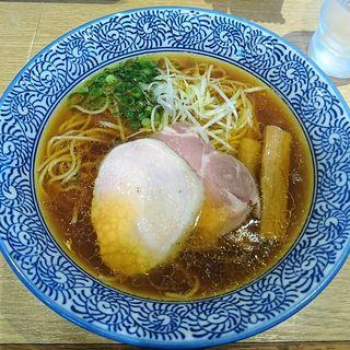 芳醇香味そば(醤油)(麺屋 一燈 (いっとう))