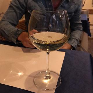 グラスワイン(白)(ボン・ムッシュ )