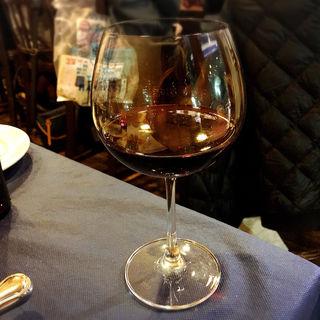 グラスワイン(赤)(ボン・ムッシュ )