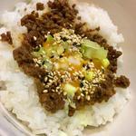 肉味噌ご飯(小)