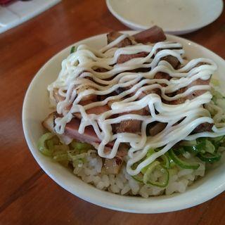 チャーマヨごはん(麺道我飯 (メンドウワガマンマ))