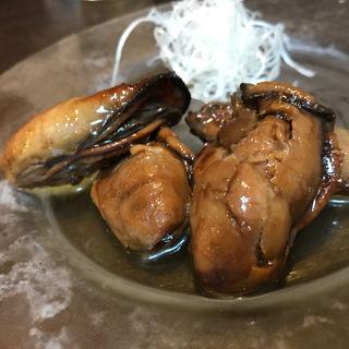 牡蠣のオイル漬け(牡蠣屋)