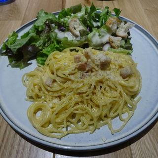 カルボナーラ(タカナシミルクレストラン)