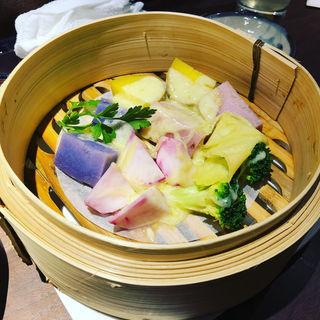 蒸し野菜のラクレット(鉄八 )