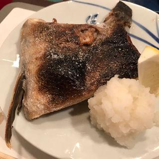 焼き魚(鰤カマ)(かぶら )
