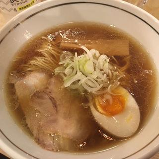 あっさり醤油ラーメン(らぁ麺 紬)