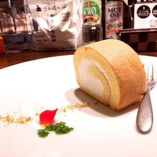低糖質ロールケーキ(低糖質食専門店 ローカーボキッチン 然)