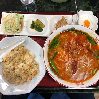台湾ラーメン定食(長楽園)